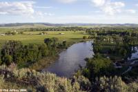 Yampa River and Hayden