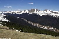 Medicine Bow Curve at Rocky Mountain National Park